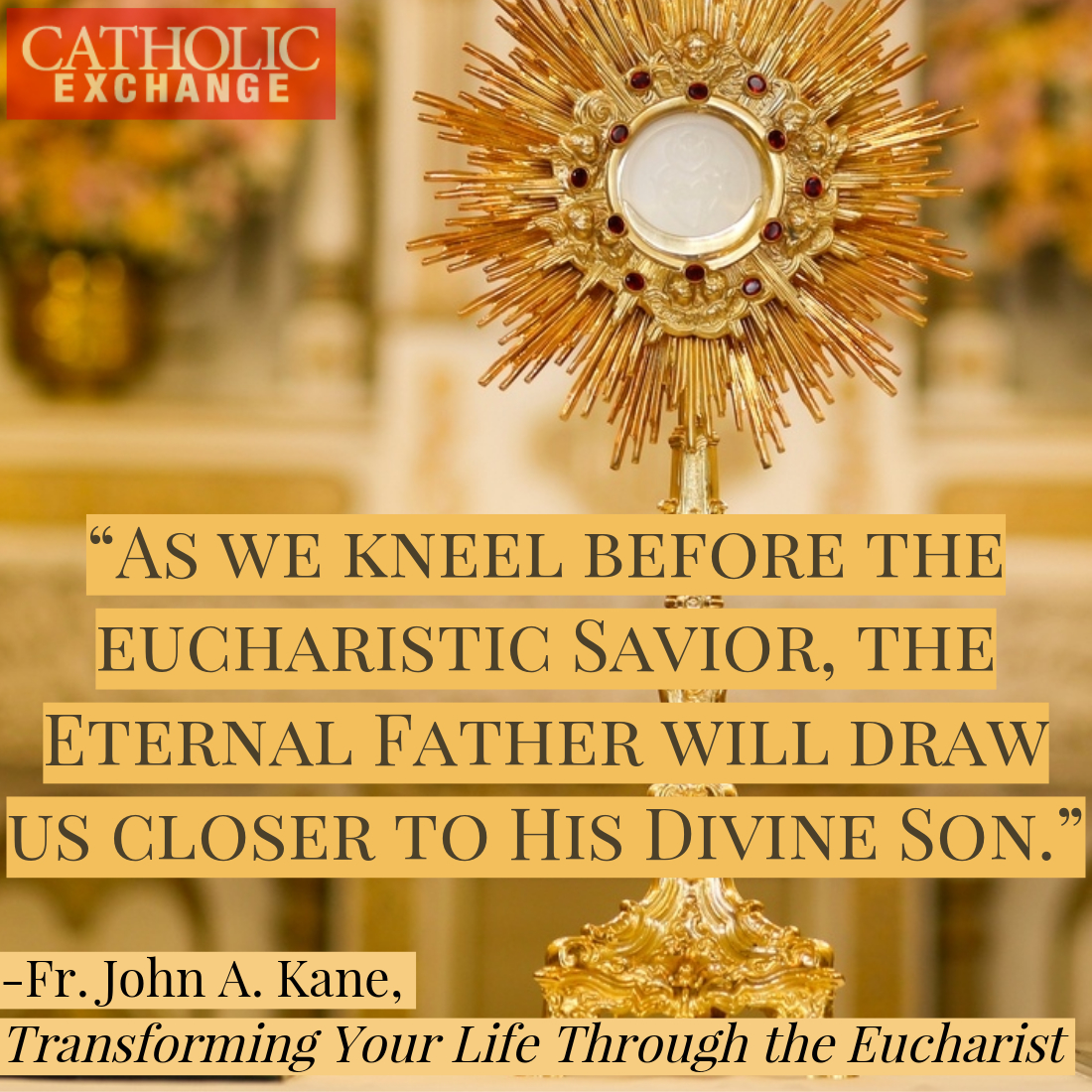 Why We Pray Before the Blessed Sacrament